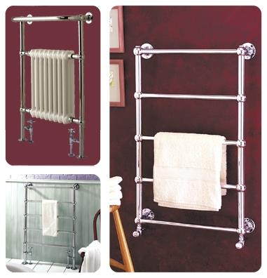 MHS Empire Chrome Towel Rail-1625