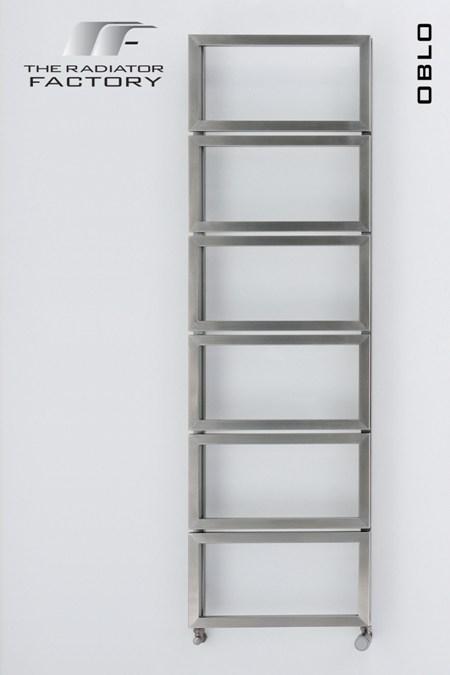 Oblo Stainless Steel Towel Rail-0