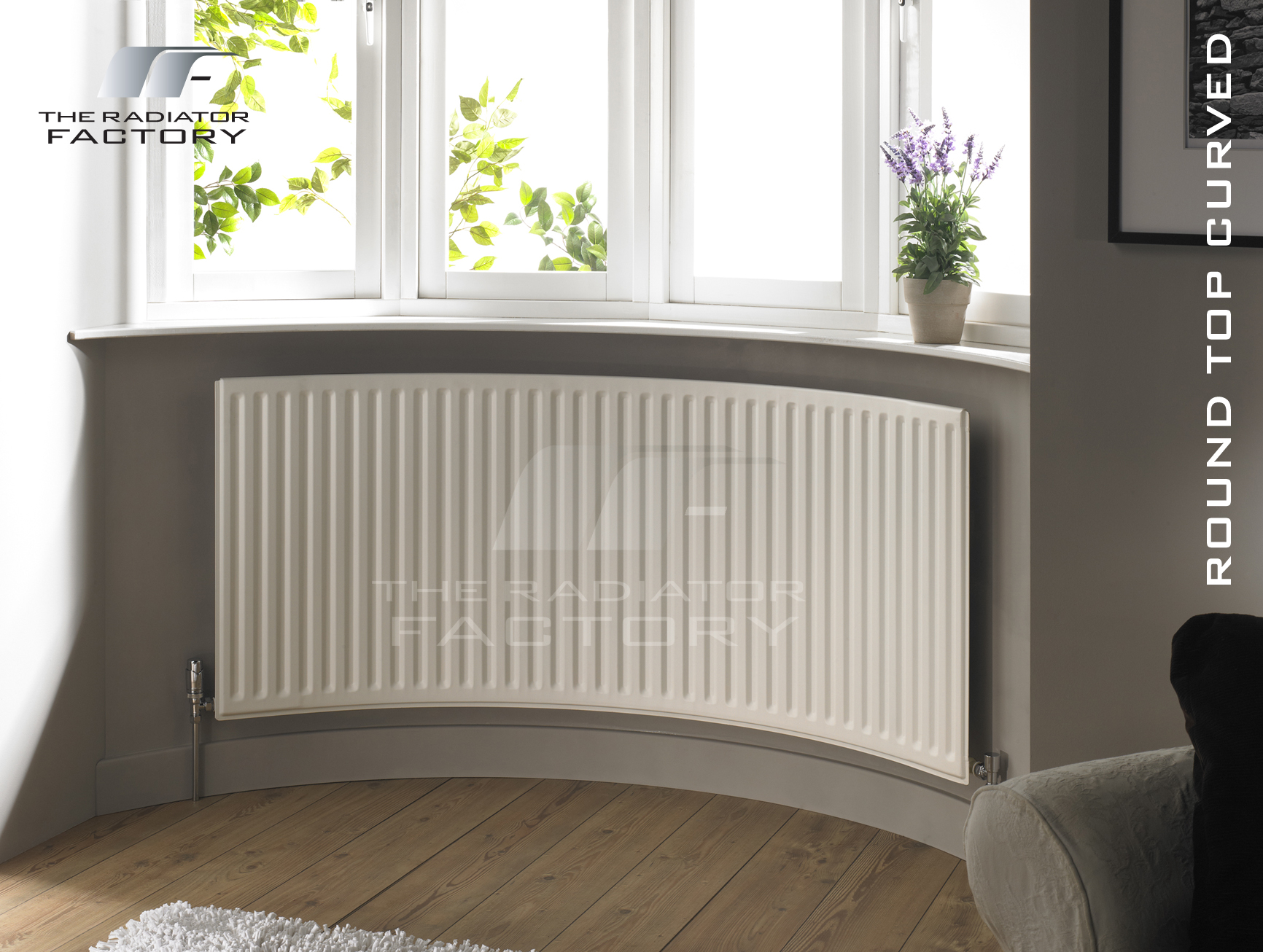 Rtc Round Top Curved The Radiator Factory