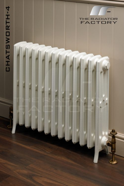 "Chatsworth 4 Column ""Ready 2 Go"" Edwardian Cast Iron Radiator-0"