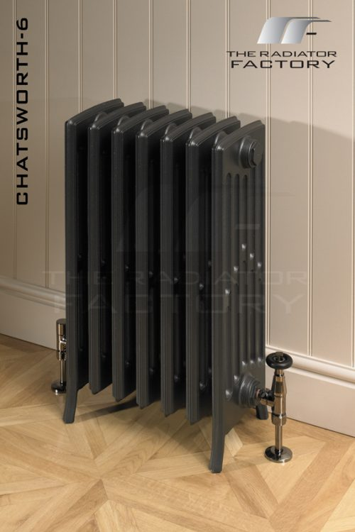 "Chatsworth 6 Column ""Ready 2 Go"" Edwardian Cast Iron Radiator-0"