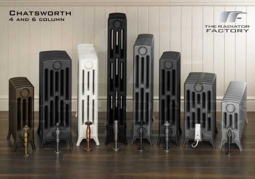 "Chatsworth 6 Column ""Ready 2 Go"" Edwardian Cast Iron Radiator-1779"