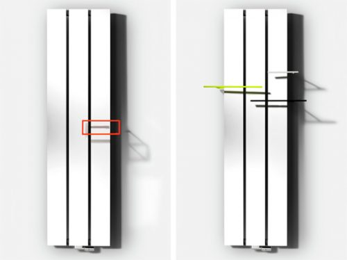 VASCO BEAMS ALUMINIUM RADIATOR-1785