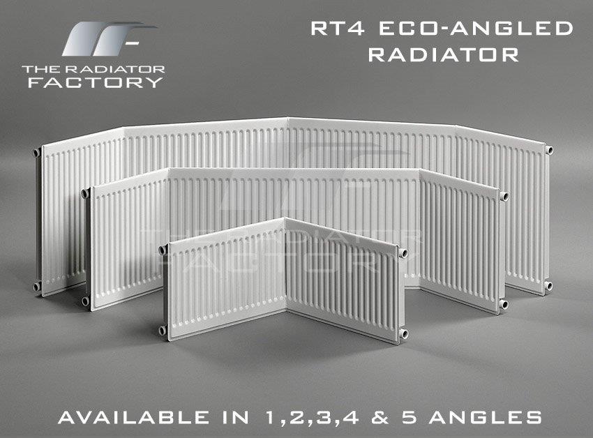 eco angled compact bay window radiators