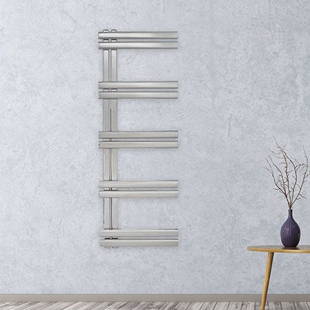 aeon trogon stainless steel towel radiator