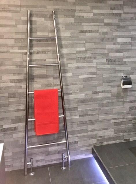 Rye Stainless Steel heated Towel Rail