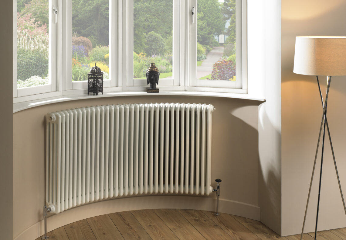 CRU-CURVED COLUMN BAY WINDOW stylish RADIATOR